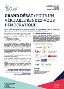 CommuniquePresse_Grand débat