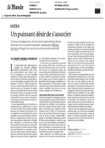 Tribune Le Monde_gilets jaunes