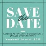 save the date 26 avril 2019