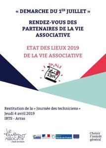 Etat des lieux de la vie associative HDF 2019